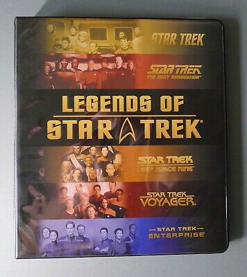 Star Trek Legends Of Star Trek Trading Cards Limited Numbered Cards & Binder (2)