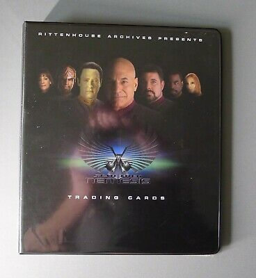 Star Trek Nemesis Trading Cards & Binder (2002)