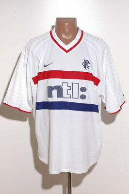 Rangers Scotland 1999/2000 Away Football Shirt Jersey Nike Size Xxl Adult