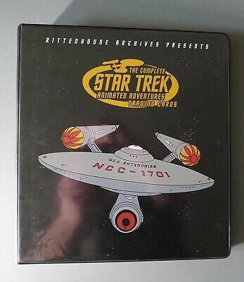 Star Trek The Complete Adventures Trading Cards & Binder (2003)