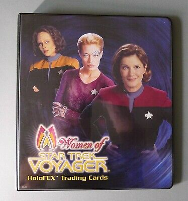 Women of Star Trek Voyager HoloFEX Trading Cards & Binder iRittenhouse - 2001