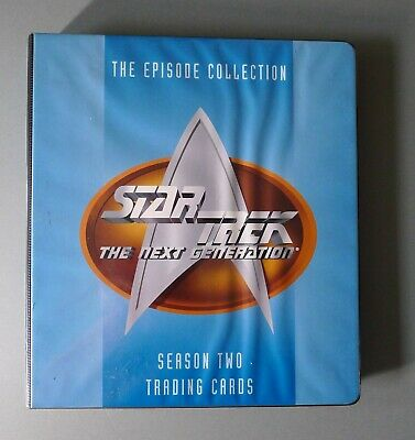 Star Trek: The Next Generation - S1-S3 Trading Cards & Binder SKYBOX 1994-95
