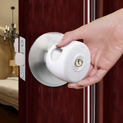 1PC Child Door Knob Safety Cover Proof Safe Children Lock Guard Protection