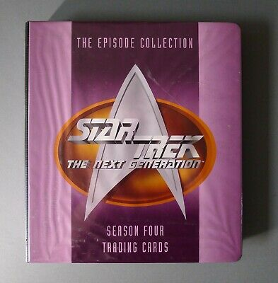 Star Trek: The Next Generation - S4-S7 Trading Cards & Binder SKYBOX 1996-99