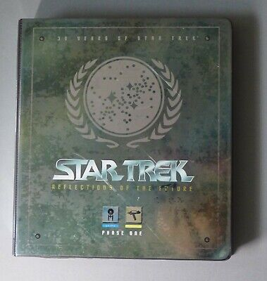 30 Years of Star Trek - Phase One, Two & Three Skybox Trading Cards & Binder