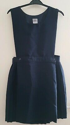 Navy Girls School Pinafore 13-14 yrs old