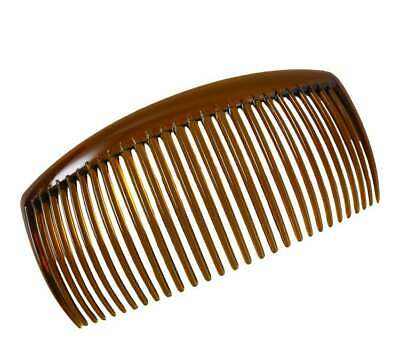 Plain Acrylic Side Hair Comb-Curved Long Large Hair Side Combs For French Twist