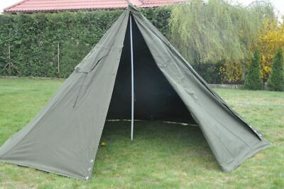 Set 2 Military Polish Army Poncho or 1 Tent. BIGGEST SIZE 3.1980's.New. Lavvu.