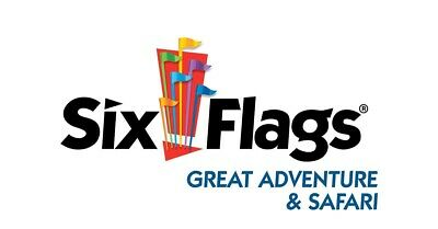 Six Flags Great Adventure Jackson NJ Day Daily Parking Pass 2019!