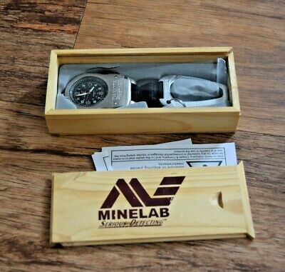 RARE Minelab Serious Detecting Metal Detecting Detector Accessory - boxed WATCH