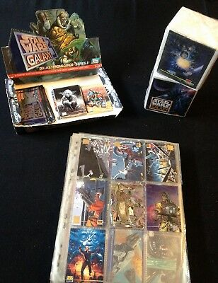 Star Wars GALAXY Trading Cards TOPPS Series 1 + 2 + 3 + PROMO Cards RARE!