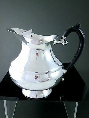 Vintage CANADIAN VICTORIAN PLATE Silverplate ICE LIP WATER PITCHER JUG