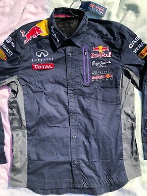 Red Bull F1 Team  Shirt✔️Verstappen✔️Size Large✔️Genuine Official Top✔️Bnwt✔️✔️