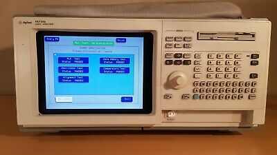 Agilent 1673G Logic Analyser & Pattern Generator With Test Cables, Probes & Cmos