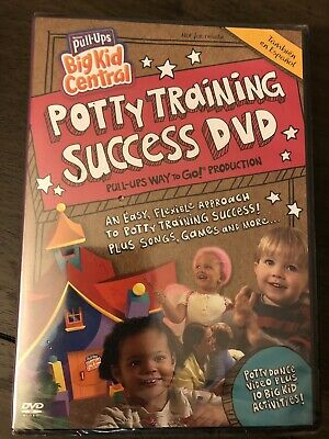 Huggies Pull-Ups Potty Training Success DVD 2010 NEW & SEALED FREE SHIPPING