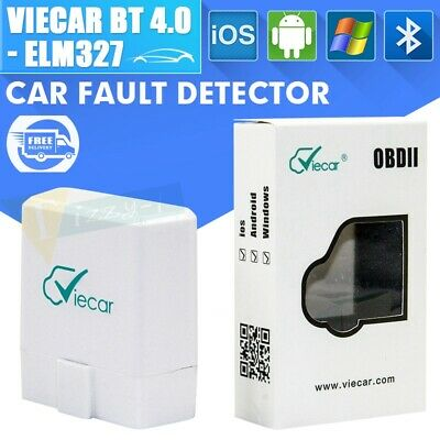 Viecar ELM327 V1.5 Bluetooth 4.0 OBD2 Diagnostic Scanner Tool Viecar IOS Android