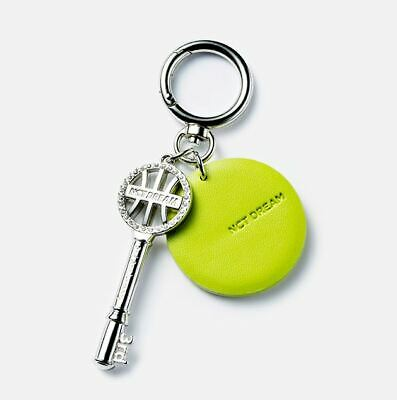 NCT DREAM 3rd ANNIVERSARY SMTOWN OFFICIAL GOODS LEATHER KEYRING KEY RING NEW