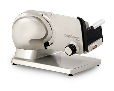 Chef's Choice Premium Electric Food Slicer 615A Stainless Steel Meat Slicer New