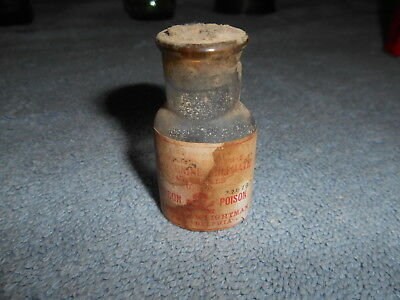 Antique Bottle - Powers & Weightman  - Philadelphia