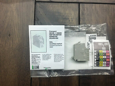SCHNEIDER ELECTRIC auxiliary contact 1OC or 1SD or 1SDE or 1SDV 29452