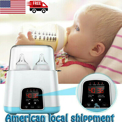 3-IN-1 Baby Bottle Warmer Steam Sterilizer Food Breastmilk Heater Blue