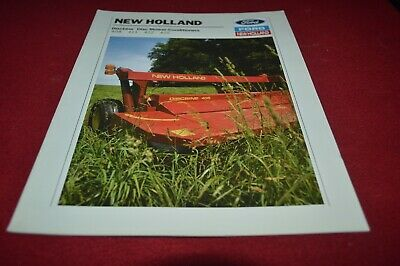 New Holland 408 411 412 415 Disc Mower Conditioner Dealer's Brochure AMIL15