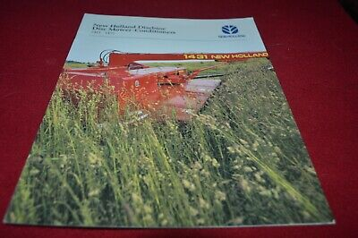 New Holland 1411 1431 Disc Mower Conditioner Dealer's Brochure AMIL15 ver2