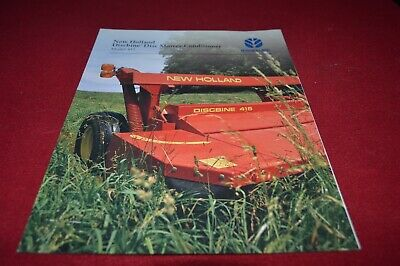 New Holland 1415 Disc Mower Conditioner Dealer's Brochure AMIL15