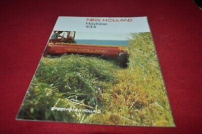 New Holland 444 Haybine Mower Conditioner Dealer's Brochure AMIL15