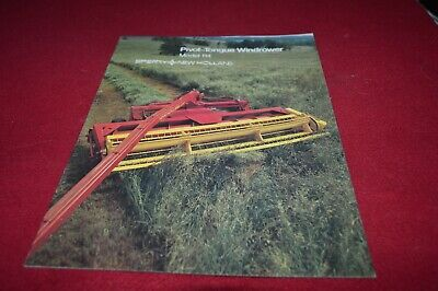 New Holland 114 Haybine Mower Conditioner Dealer's Brochure AMIL15
