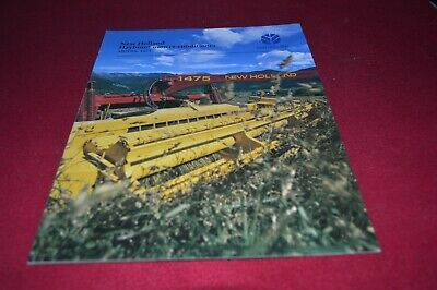 New Holland 1475 Haybine Mower Conditioner Dealer's Brochure AMIL15 v
