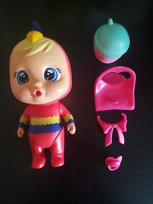 Cry Babies Magic Tears Mini Dolls Lori Parrot Pre-owned with accessories