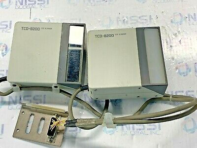 Lot Of 2 Tohken Tcd-8200 Ccd Scanner