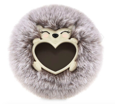 Bath & Body Works Scentportable Fluffy Hedgehog Visor Clip New