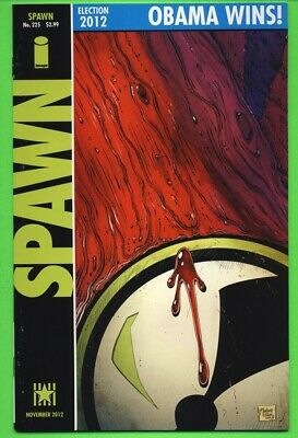 SPAWN #225 2012 Homage Cover WATCHMEN #1 (1986) NM- 9.2 TODD MCFARLANE Cover
