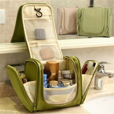 Waterproof Travel Toiletry Wash Cosmetic Bag Makeup Storage Case Hanging Pouch