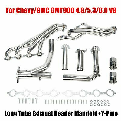 FOR CHEVY/GMC GMT800 4 8/5 3/6 0 V8 Vortec Engine Exhaust