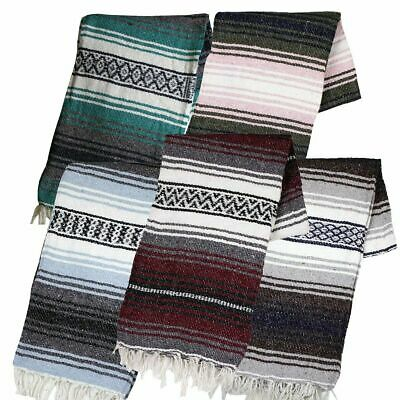 Mexican Yoga Falsa Blanket Assorted Canyon Creek Authentic All Brand New