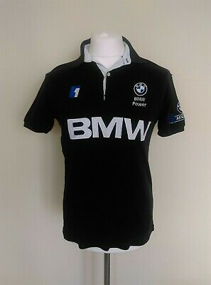 Vintage BMW Power Williams F1 Team Spell Out Formula 1 Polo Shirt adults Medium