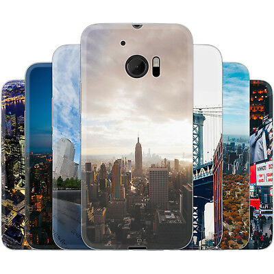 Dessana New York City Nyc Silicone Case Phone Cover for HTC