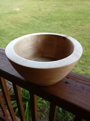 Handmade Rustic Wooden Bowl Made From Ash