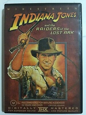 INDIANA JONES AND THE RAIDERS OF THE LOST ARK - DVD Region 4 - Harrison Ford