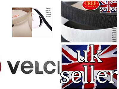 VELCRO PS14 self adhesive or sew on tape hook & loop various widths and lengths