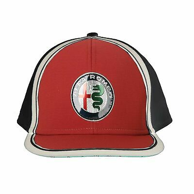 2019 Alfa Romeo Racing F1 Team Baseball Cap Flat Brim Logo Hat Adults One Size
