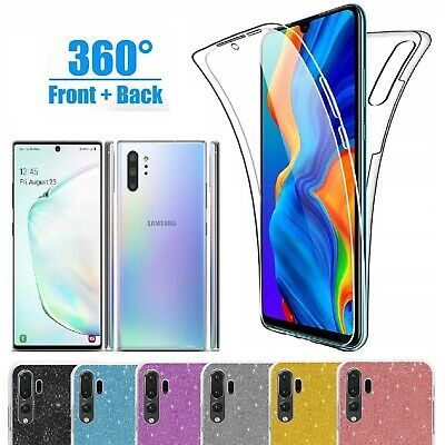 Shockproof 360 Holder Clear Gel Case Cover For Samsung Galaxy Note 10 10 Plus 5G