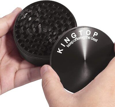 Extra Large 4 Piece Tobacco Grinder Sharp Metal Spice / Herb Crusher 3.0 Inch