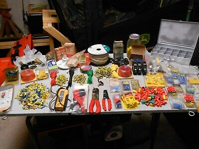 Electrical Connectors & Accessories Lot ( ALL KIND OF THINGS )
