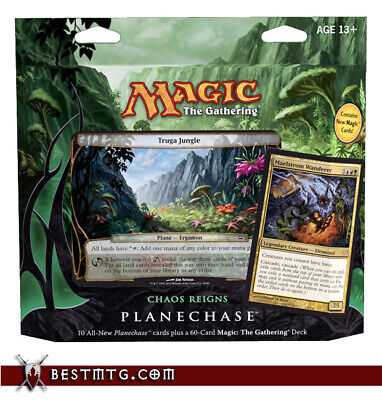 MTG - Chaos Reigns Deck - Planechase 2012 Pack Box Sealed