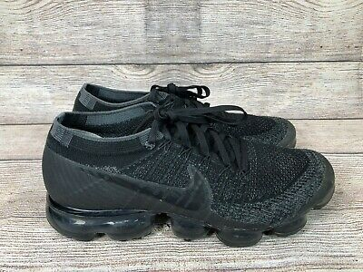 Nike Air Vapormax Flyknit Black Anthracite 849558 007 Size 9