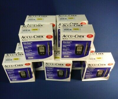Accu Chek Aviva Glucose Diabetic Meter Monitor|Test Strips Not Included|EXPIRED